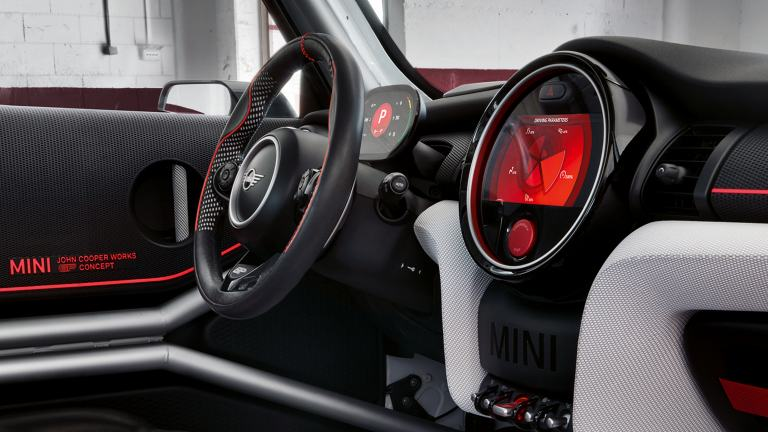 Koncept MINI John Cooper Works GP – kokpit